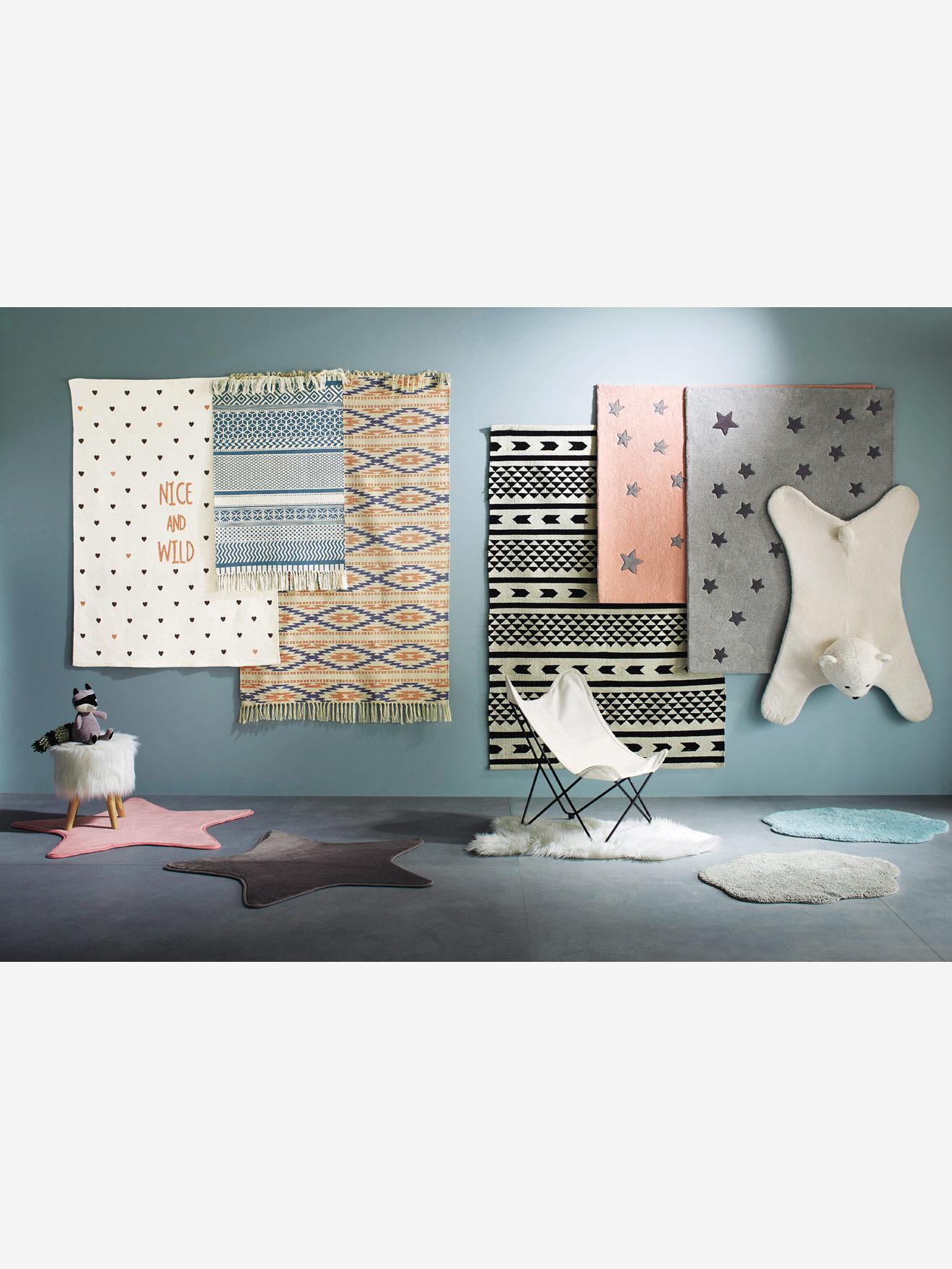 Kinderteppiche von vertbaudet in verschiedenen Formen und Farben