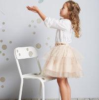 Mädchen Röcke von vertbaudet in verschiedenen Schnittten und Stoffen