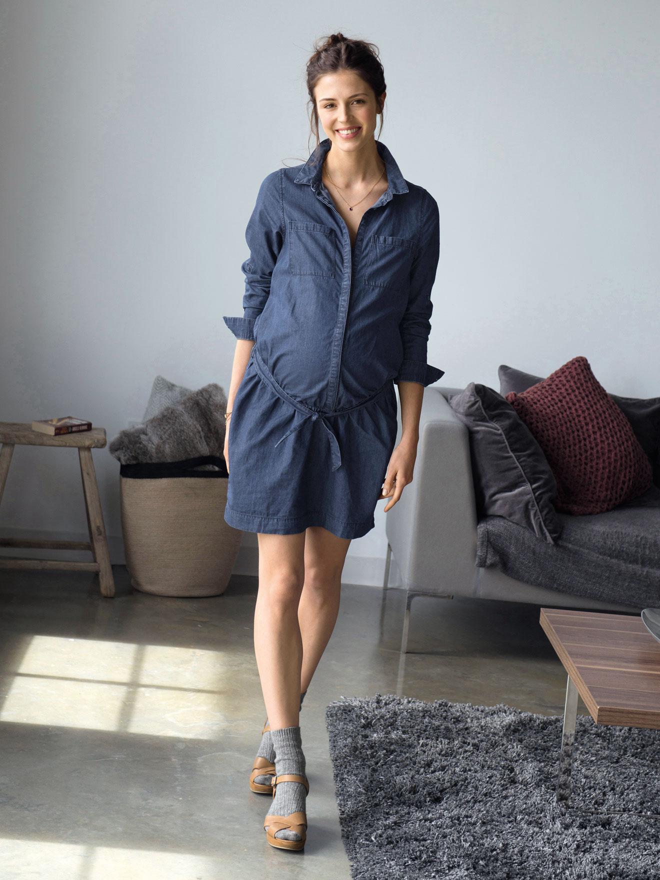 Umstandskleider von vertbaudet überzeugen mit eleganten Schnitten und praktischen Details